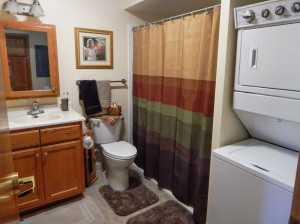 Bathroom with Laundry