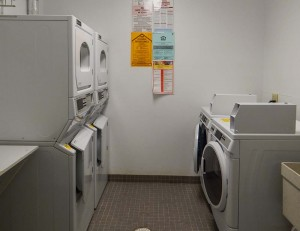 Coin Operated Laundry Rm